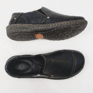 NEW《Born》Black Loafers Dress Shoes Women 36.5 Men6